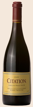 2005 Citation Oregon Pinot Noir Image