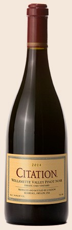 2014 Erratic Oaks Citation Pinot Noir Image